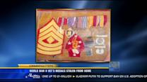 World War II vet's medals stolen from home