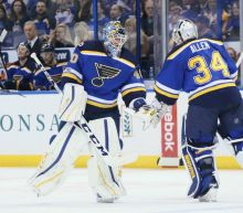 Jake Allen pulled twice, Blues goaltending is dumpster fire