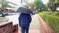 Scattered rain showers fall across Bay Area