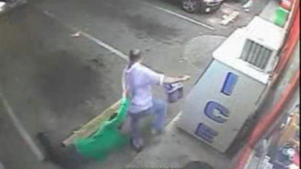 Caught on cam: Store clerk fights beef thief