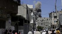 Raw: Grief After Deadly Airstrikes in Gaza