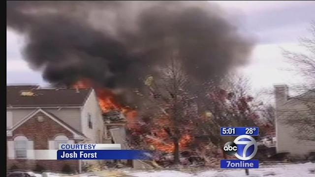 Residents react to gas explosion and fire in NJ