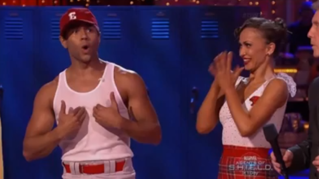 Corbin Bleu Tributes HSM on Dancing With The Stars Week 2!