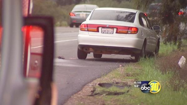 3 drivers run over a woman who was crossing HWY 99