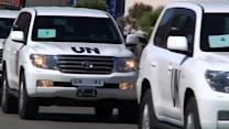 U.N. returns to Syria on mission to destroy chemical weapons