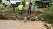 Heavy Rains Cause Flash Floods in Tennessee