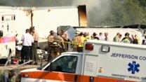 At least eight dead in fiery Tennessee bus crash