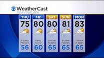 KDKA-TV Afternoon Forecast (7/16)