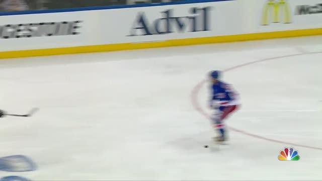 MacDonald blasts it from point past Lundqvist