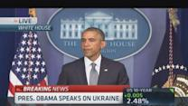 Pres. Obama: Time to restore peace & security to Ukraine