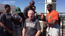 Larrañaga Takes ALS Ice Bucket Challenge Abroad | ACC Must See Moment