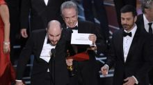 Sports world reacts with every emotion over Academy Awards flub