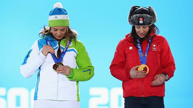 Women's downhill medal questions answered