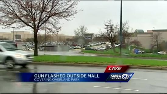 OP police: Gun pulled on woman waiting for mall parking spot