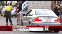 Brockton Child, 3, Struck And Killed By Car