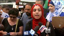 Palestinian Protest Held In Chicago