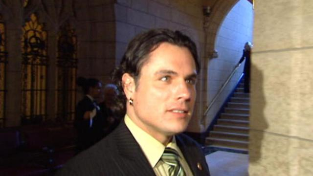Senator Brazeau arrested