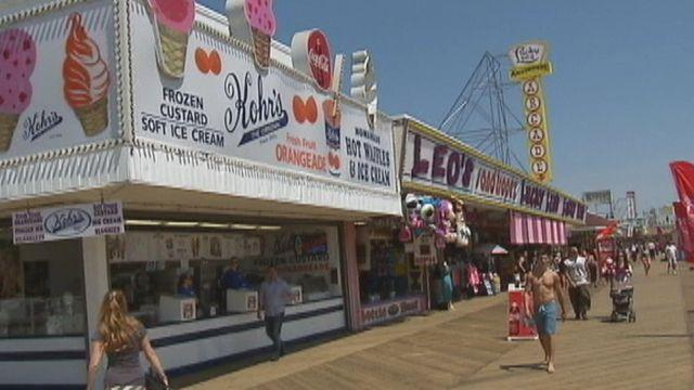 Symbol of recovery in New Jersey on first day of summer