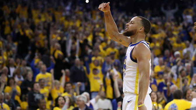 Curry is back, and the Warriors are scary