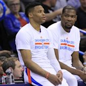 Kevin Durant: I never told Russell Westbrook I'm staying in OKC
