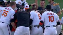 Paredes' walk-off hit