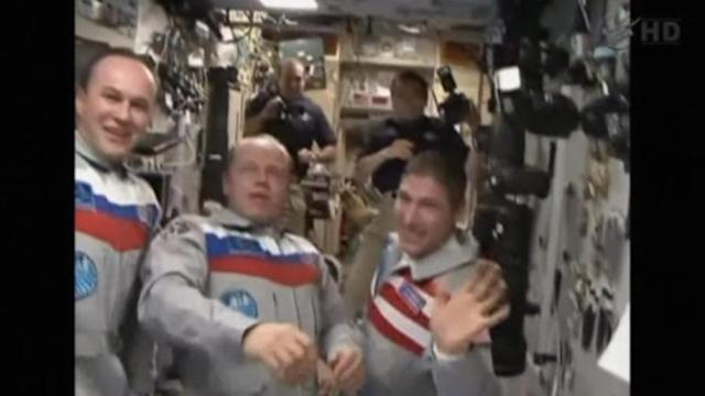 NASA astronaut says U.S.-Russia tensions did not affect ISS mission