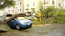 Cleanup underway in SF after major storm