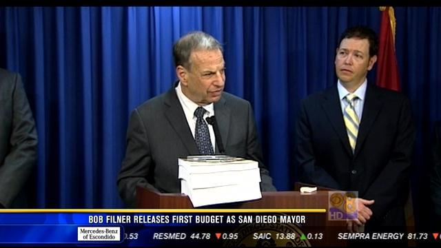 Bob Filner releases first budget as San Diego Mayor