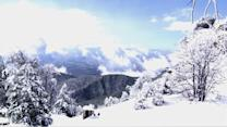 Storm dumps several inches of snow in mountains