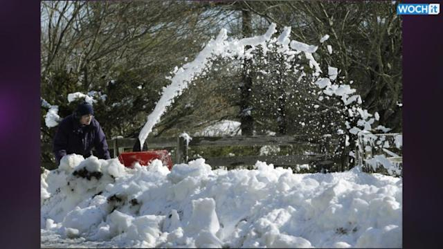 Walloped Again: Another Storm Hits Much Of US