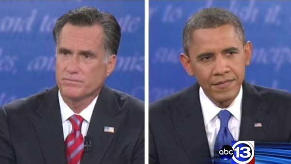 Obama, Romney 9 days away from Election Day