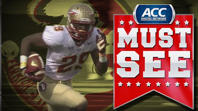 Florida State's Nate Andrews Returns Interception For Touchdown | ACC Must See Moment