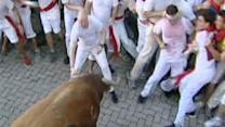 4 Hurt in Running of the Bulls in Pamplona