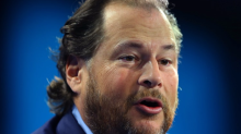Salesforce is sliding despite its earnings beat