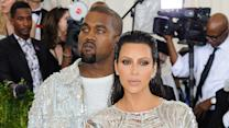 Kim Kardashian Licks Kanye's Face & Named Met Gala's Best Dressed Couple