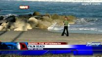 Environmental managers tally beach damage caused by Sandy
