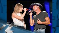 Keith Urban News Pop: Taylor Swift Jams With Tim McGraw, Keith Urban At CMA Music Festival