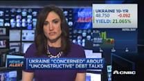 Ukraine 'concerned' about debt talks