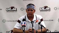 ULM Head Coach Todd Berry talks Wake Forest Win