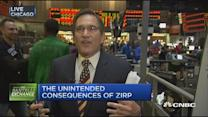 Unintended consequences of zero interest rate policy