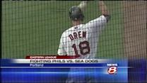Stephen Drew rehabs with Sea Dogs, Portland loses 7th in a row