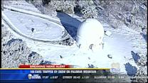 100 vehicles trapped by snow on Palomar Mountain