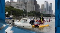 New York City Breaking News: Helicopter Makes Emergency Landing In NYC's Hudson River After Losing Power