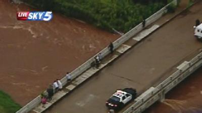 Roads Closed Due To Flooding In Okla. County
