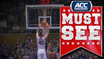 Duke's Marshall Plumlee Vicious Follow-Slam | ACC Must See Moment