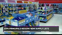 JCPS releases school supply lists to principals