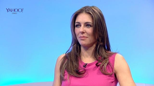 Liz Hurley says she can't walk, let alone run!