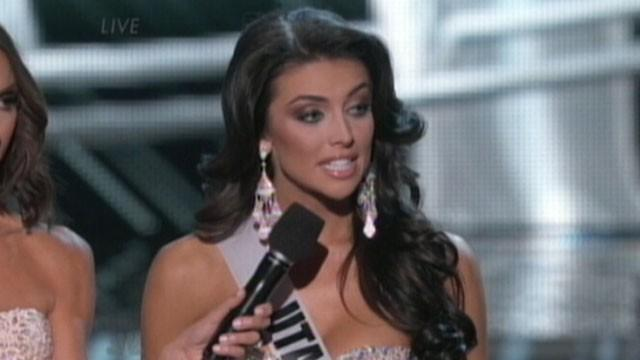 Miss Utah Flubs Inequality Question at Pageant