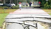 Sinkhole Threatens Florida Neighborhood