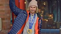 David Letterman - Olympic Snowboarder Sage Kotsenburg's Return From Sochi